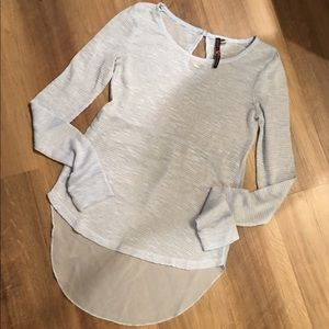 Made For Me To Look Amazing High Low Knit Top